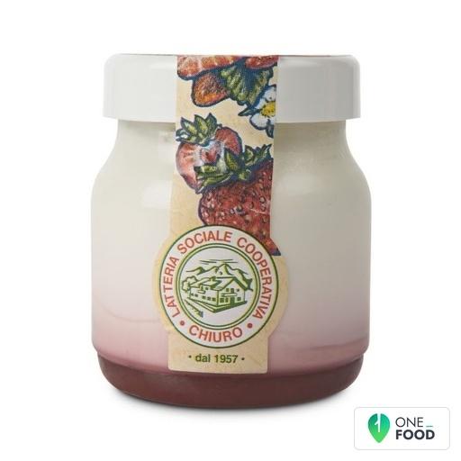Whole Yoghurt With Extra Strawberry Jam Chiuro